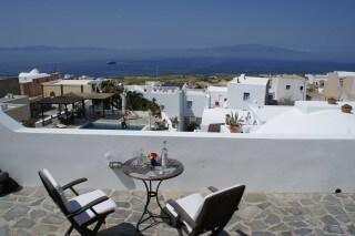 facilities aethrio hotel veranda view