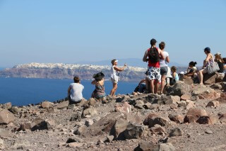 santorini excursion aethrio hotel visitors