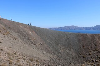 santorini excursion aethrio hotel walking