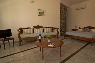 studio aethrio hotel living room