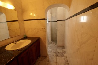 superior room aethrio hotel shower