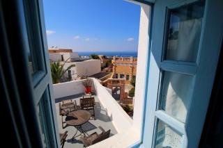 superior room aethrio hotel terrace